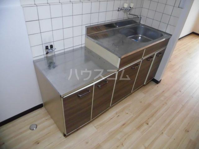 ラベンダータウン B棟 2-B号室のキッチン