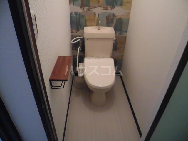 ラベンダータウン B棟 2-I号室のトイレ