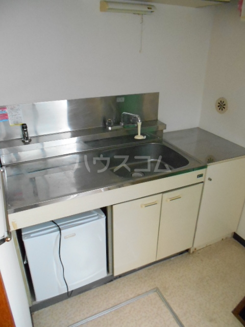 東台グリーンハイツ 105号室のキッチン