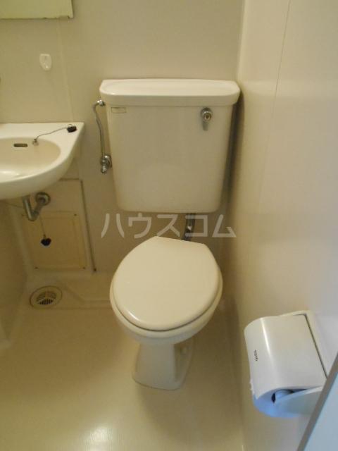 東台グリーンハイツ 105号室のトイレ