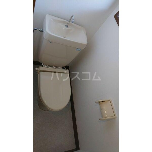 柳津パレス 203号室のトイレ
