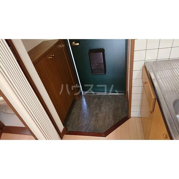柳津パレス 203号室の玄関