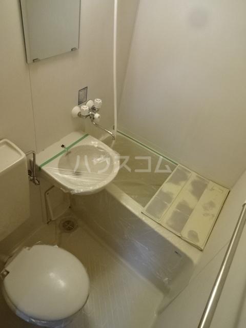 サンハイム中川 101号室の風呂