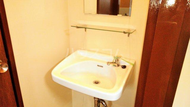 斉藤マンション 302号室の洗面所