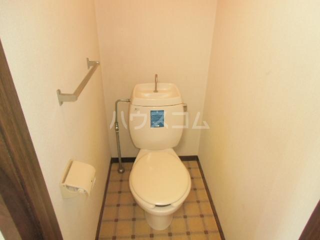 サニーハイツ 201号室のトイレ