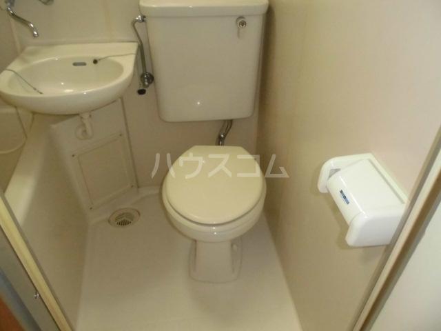 ラフィネ浜 7D号室のトイレ