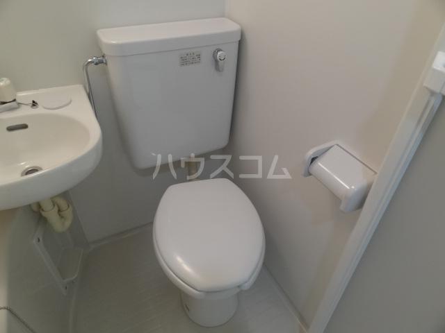 ライズ亀有 202号室のトイレ