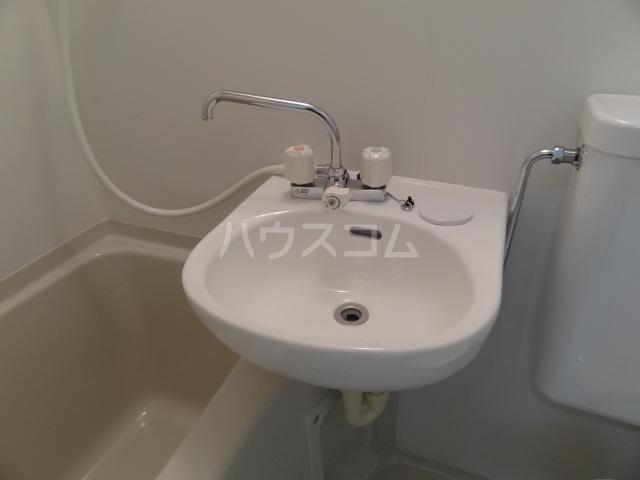 ライズ亀有 202号室の洗面所