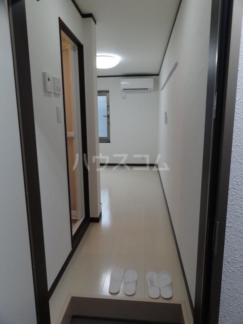 ライズ亀有 202号室の玄関