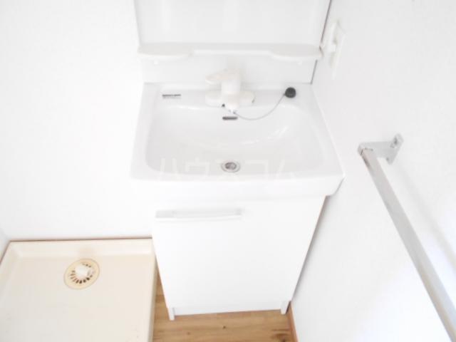 第二悠ハイツ 203号室の洗面所