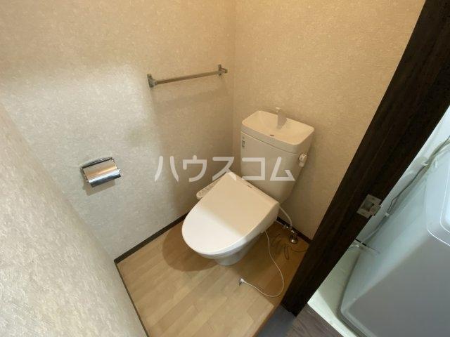悠ハイツ 105号室のトイレ