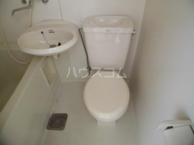 サンシティ クシマ 202号室のトイレ