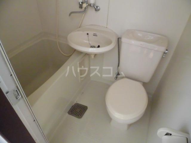 サンシティ クシマ 202号室の洗面所
