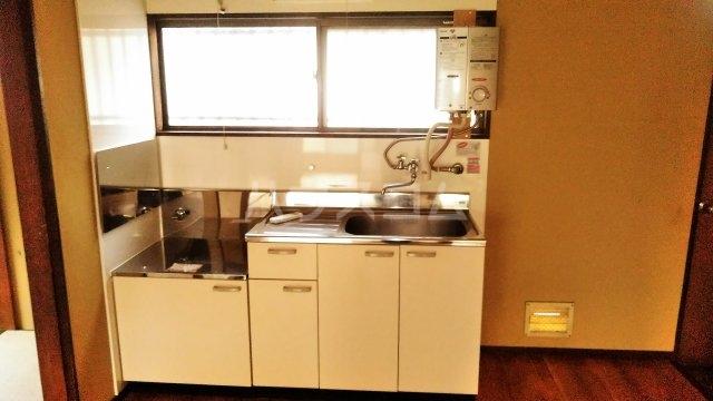 持丸荘 201号室のキッチン