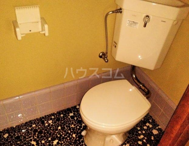 持丸荘 201号室のトイレ
