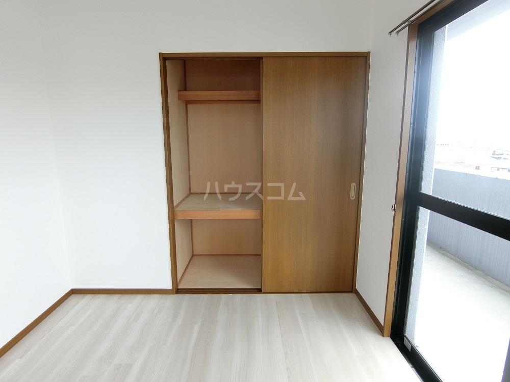 メゾン21 406号室の収納