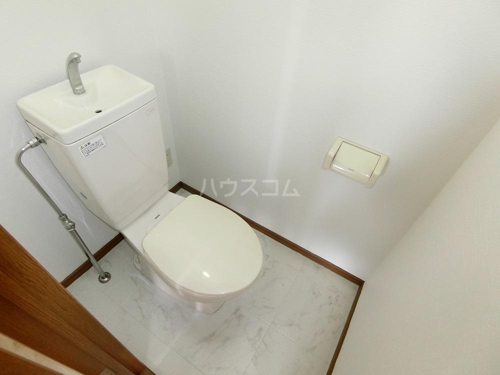 メゾン21 406号室のトイレ