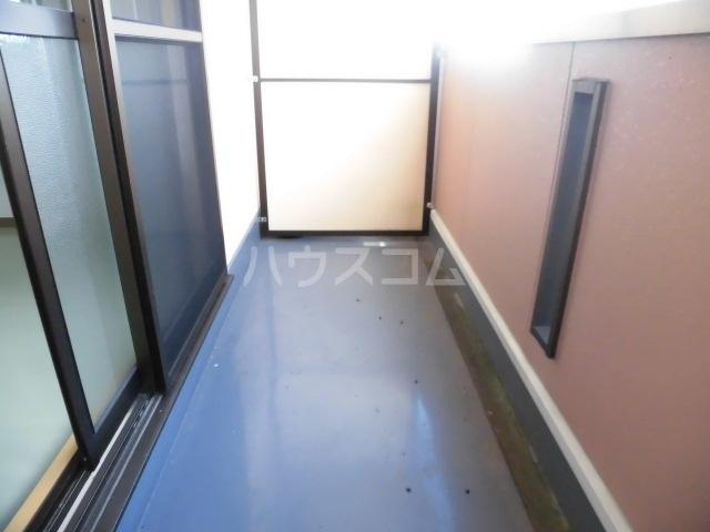グランヒル7 302号室のバルコニー