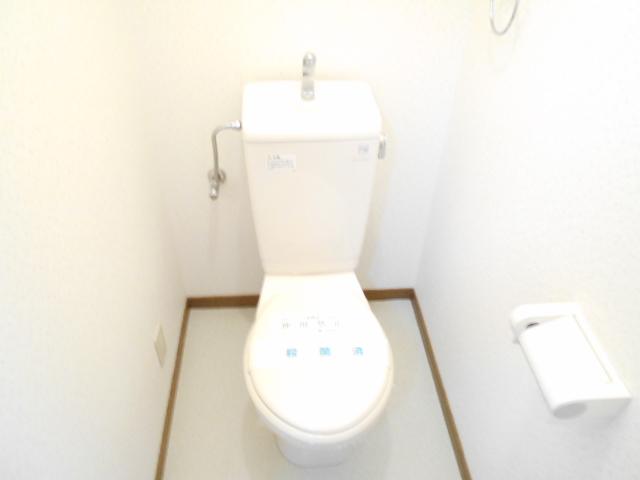 マーサ21 101号室のトイレ