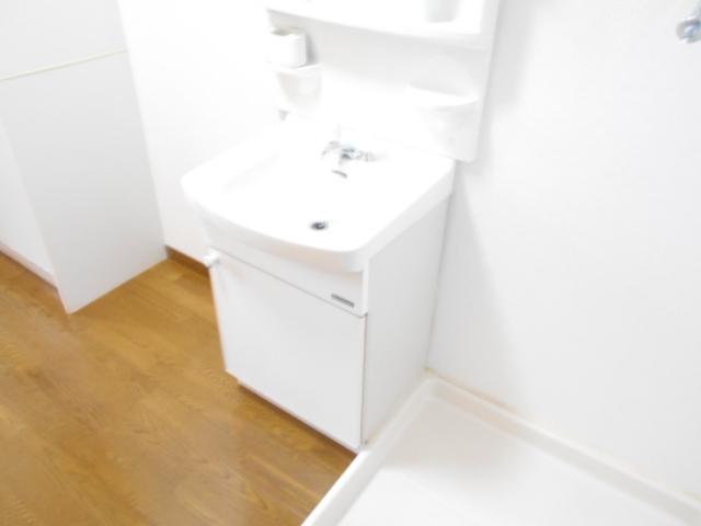 マーサ21 101号室の洗面所