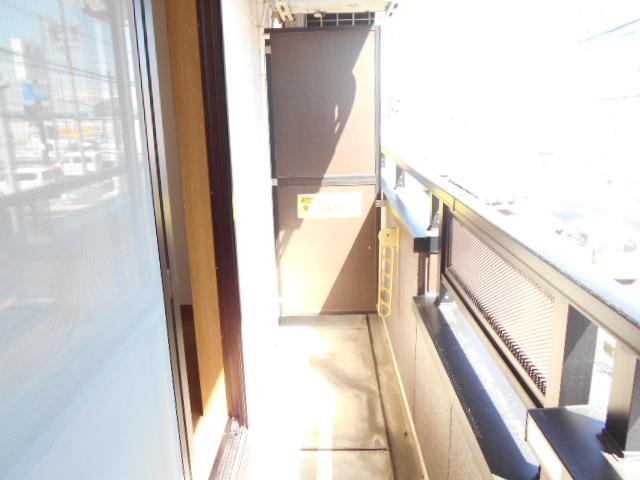 マーサ21 101号室のバルコニー