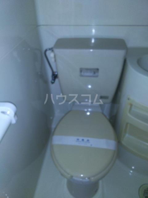 大森マンション 203号室のトイレ