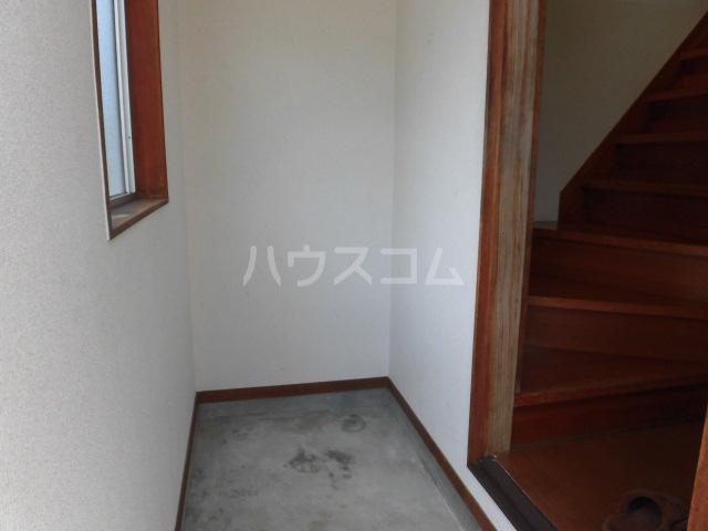 藤コーポAの玄関