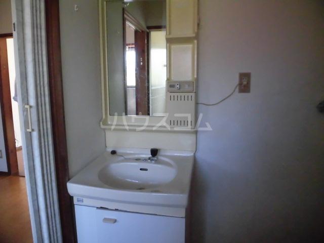 藤コーポAの洗面所