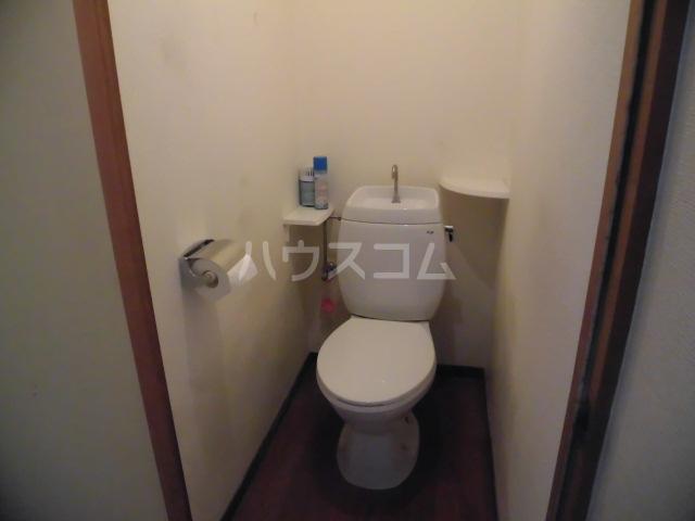 藤コーポAのトイレ