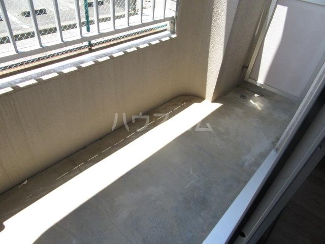ファインシティ21 107号室のバルコニー
