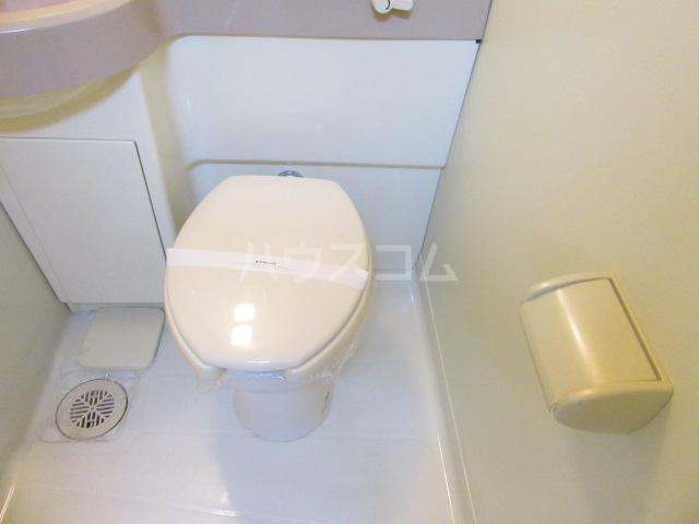 ファインシティ21 107号室のトイレ