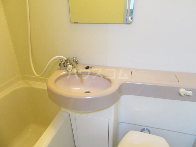ファインシティ21 107号室の洗面所