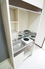 クレセントM浮島 303号室のキッチン