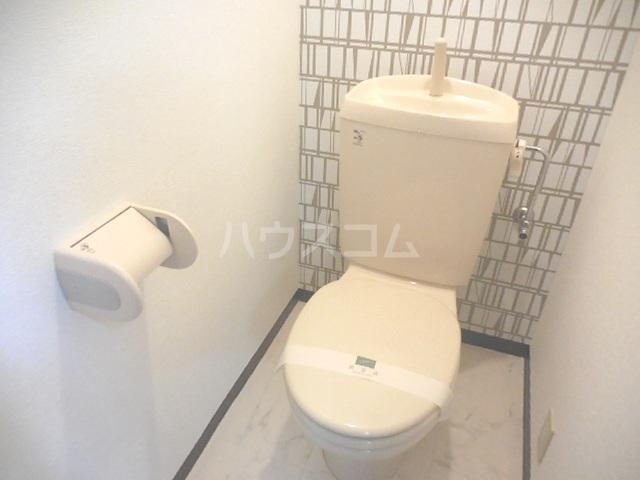 トゥインクル 101号室のトイレ