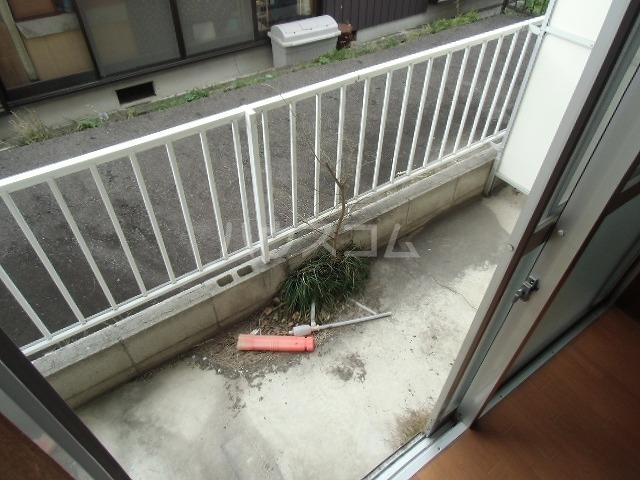 クリスタルハイツ 205号室のバルコニー