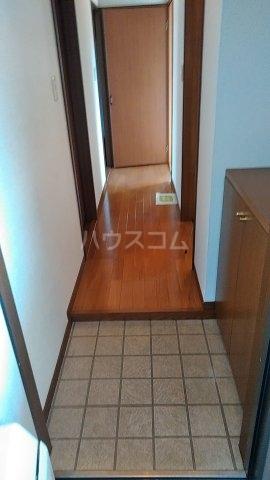 フォレストⅠ 205号室の玄関