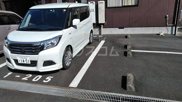 フォレストⅠ 205号室の駐車場