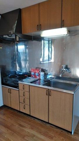 フォレストⅠ 205号室のキッチン