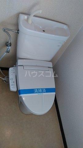 フォレストⅠ 205号室のトイレ