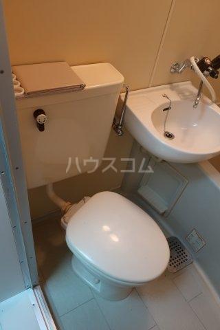 ボナール金山 105号室のトイレ
