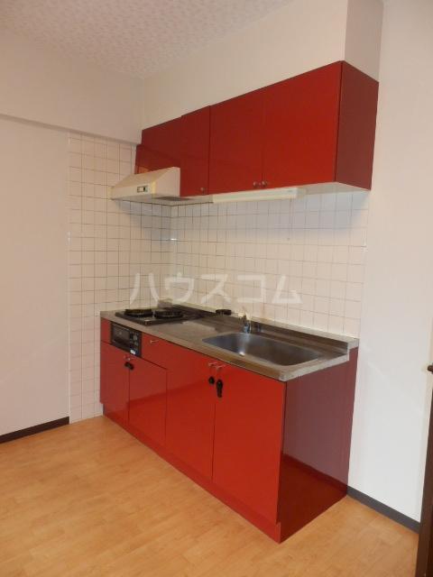 サングランメール 6A号室のキッチン