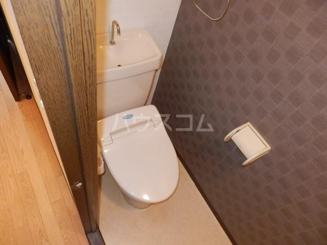 サングランメール 6A号室のトイレ