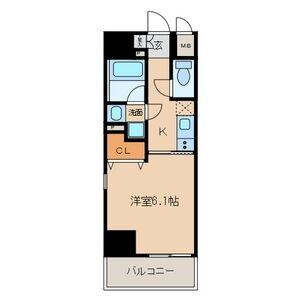 プレミアム黒川・306号室の間取り