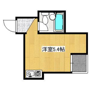 ALEGRIA PLACE徳川町・2C号室の間取り