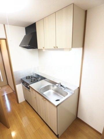サンハピネス 2D号室のキッチン