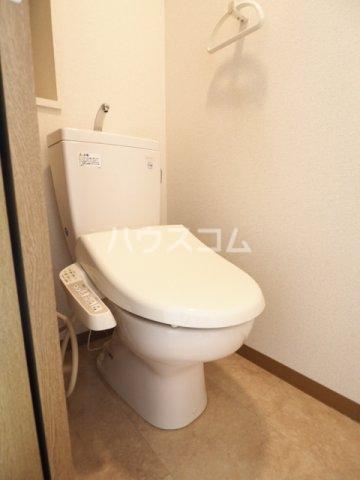 サンハピネス 2D号室のトイレ