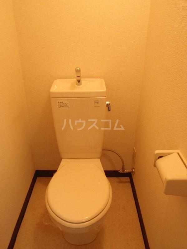 メゾンエクセルⅠ 202号室のトイレ
