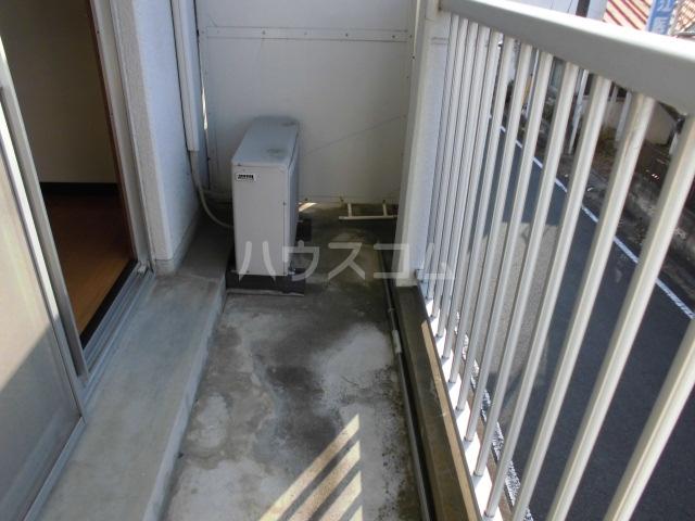 清水マンション 202号室のバルコニー
