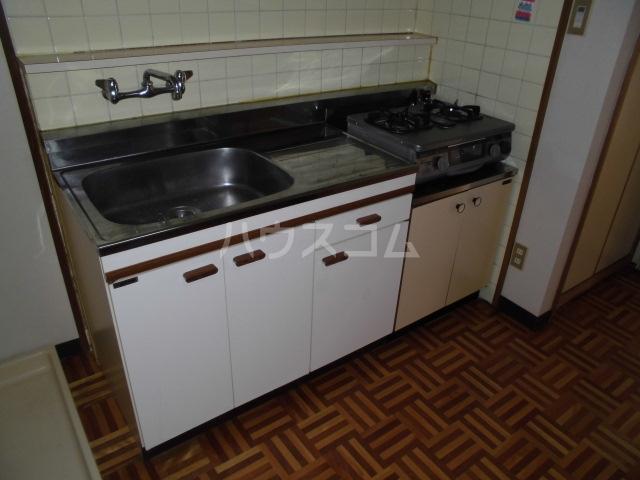 清水マンション 202号室のキッチン