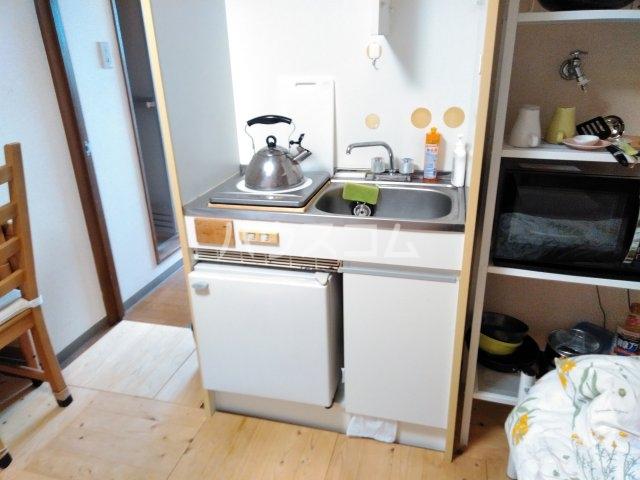 第2ハイツ早田 24号室のキッチン